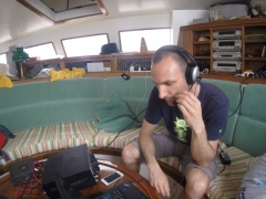 F4BKV operating 5R/F5UFX/MM (when not seasick)