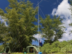 6m antenna and shelters